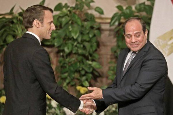 Visite de Sissi à Paris : Macron évoque sobrement les droits de l'homme en Egypte