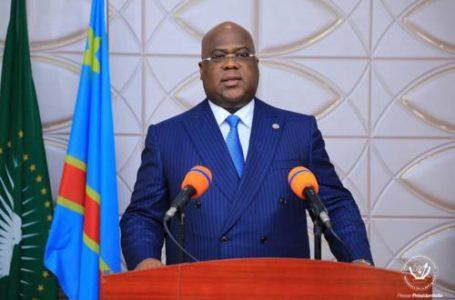 Le président Félix Tshisekedi