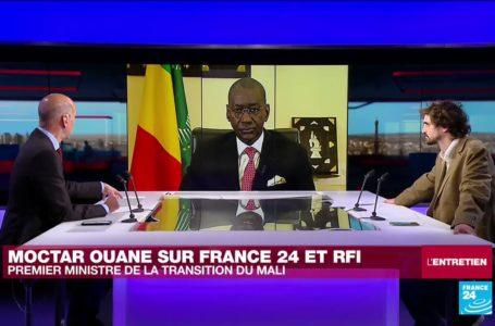 L'ENTRETIEN – Moctar Ouane, Premier ministre de la transition du Mali © France 24 / RFI