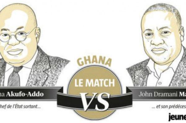 Les deux rivaux à la présidentielle au Ghana signent «un pacte de paix»