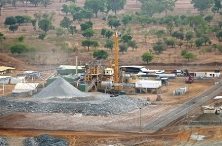 Vue de la mine de Yaramoko, au Burkina Faso, entrée en production au second semestre 2016. © Roxgold
