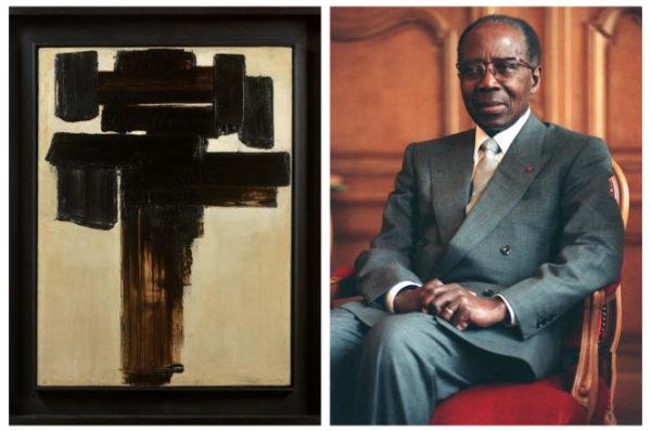 Vente aux enchères : ce tableau de Soulages qui fit « vaciller » Léopold Sédar Senghor