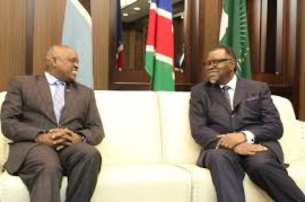 La Namibie et le Bostwana renforcent leurs liens commerciaux