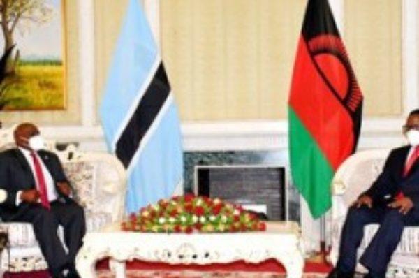Le Malawi soutient le candidat botswanais pour diriger la SADC