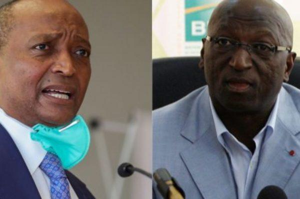 Présidence de la CAF : Patrice Motsepe poussé par la Fifa, Jacques Anouma ne s'avoue pas vaincu