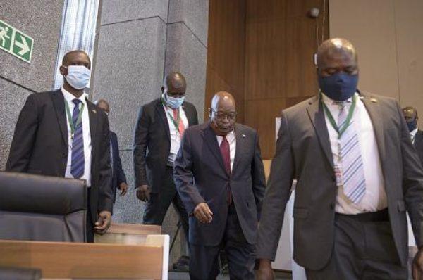 Afrique du Sud : la justice demande à Jacob Zuma de déterminer lui-même sa peine