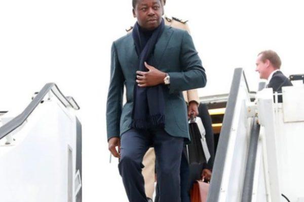 TOGO : Faure Gnassingbé est arrivé à Paris plus tôt que prévu, le reste de sa délégation est en route