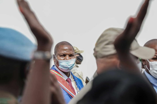Gabon: le président centrafricain Touadéra évoque le retrait brutal des Gabonais de la Minusca