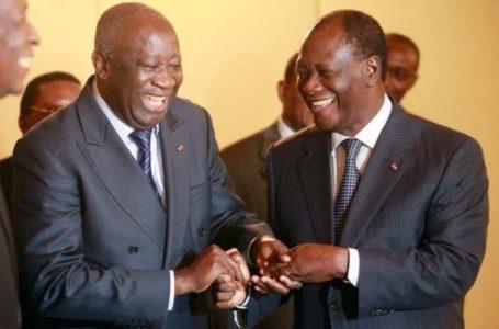 Laurent Gbagbo et Alassane Ouattara