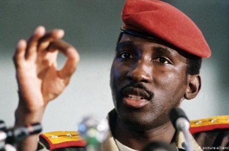 Le capitaine Thomas Sankara