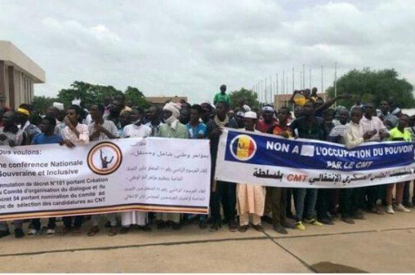 Tchad: la coordination Wakit Tama manifeste contre le processus de transition