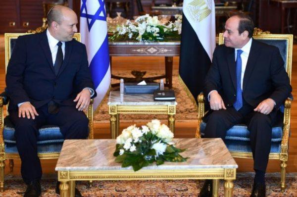 Le Premier ministre israélien en Egypte, une première depuis 2011
